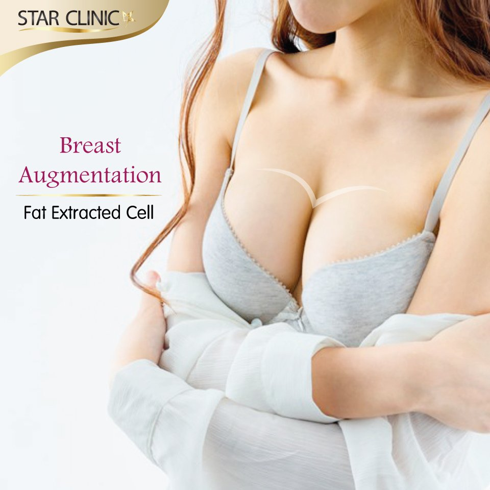 "Breast augmentation with fat ""Extracted Cell"""