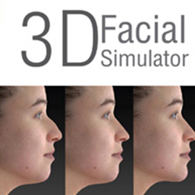 3D Facial simulator